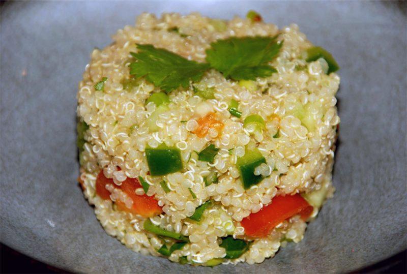 comment cuisiner quinoa bio