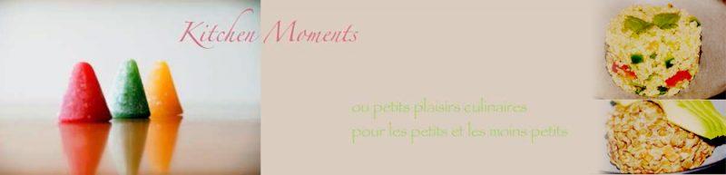Les recettes de Kitchen Moments
