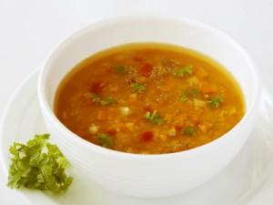 cuire une soupe à basse température