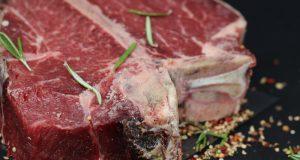 Cuisson basse température d'un pavé de bœuf