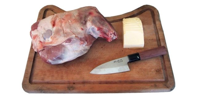Épaule d'agneau à basse température