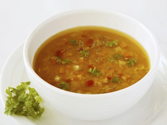 Soupe de légume à basse température