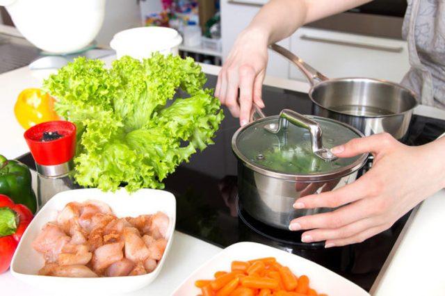Cuisine saine pour une bonne alimentation
