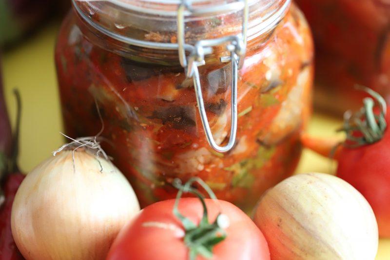 conserves de tomates cuisinées